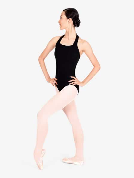 Adult Halter Cotton Dance Leotard